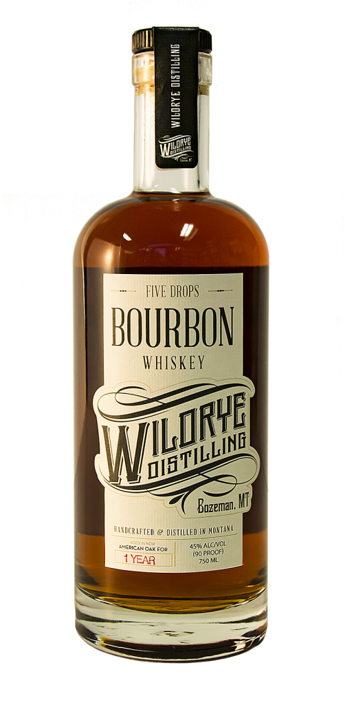 Five Drops Bourbon is Montana's Bourbon!